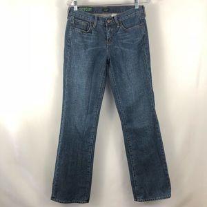 🛍 J Crew Factory Medium Wash Boot Cut Jeans